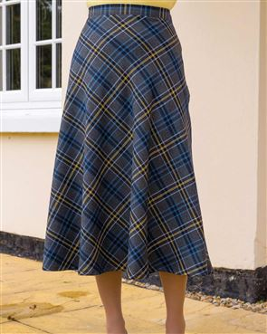 Overton Wool Mix Skirt