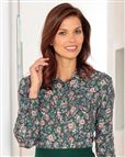 Patricia Floral Supersoft Viscose Blouse