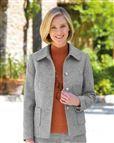 Truro Pure Shetland Wool Jacket