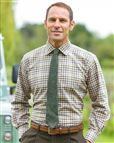Cardew Tattersall Check Pure Cotton Twill Shirt