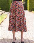 Cassandra Patterned Pure Cotton Skirt