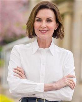 Audrey Pure Cotton Short Sleeved White Blouse