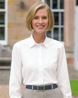 Easycare Long Sleeve Plain Polycotton Shirts