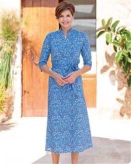 Edwina Multi Coloured Pure Cotton Dress