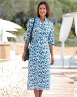 Florence Floral Pure Cotton Dress