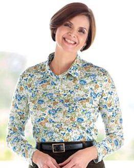 Evie Multi Coloured Pure Cotton Polo