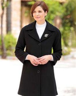 Black Buckland Coat