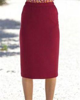 Penzance Pure Shetland Wool Straight Skirt