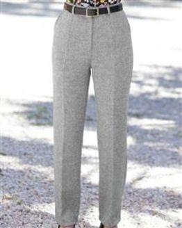Truro Pure Shetland Wool Trousers