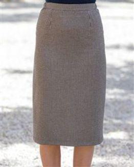 Falmouth Wool Mix Sraight Skirt