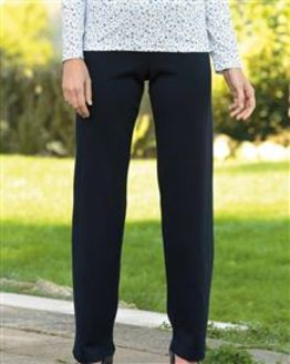 Wool Blend Pull on Trousers