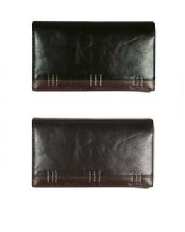 Trimmed Leather Purse