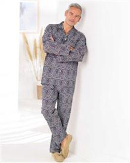 Paisley Cotton Print Pyjamas