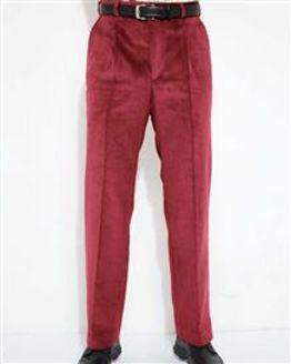 Salmon Corduroy Trousers