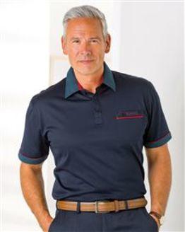 Navy Gabicci Short Sleeve Polo