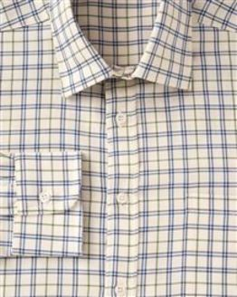 Salkeld Tattersall Check Pure Cotton Twill Shirt