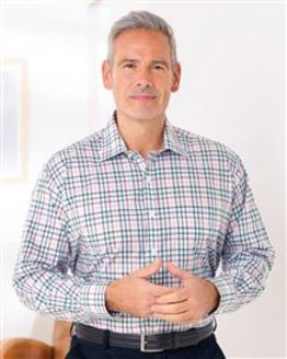 Pure Cotton Long Sleeve Casual Check Shirt