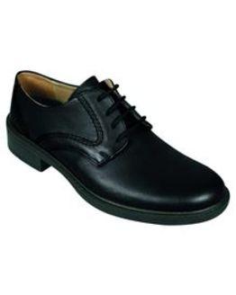 DB Wider Fit Black Lace up shoe