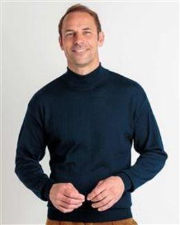 Merino Turtle Neck Sweater  Mens