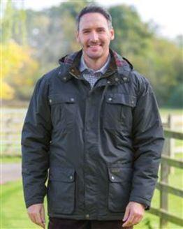 Balmoral Navy Waterproof Jacket