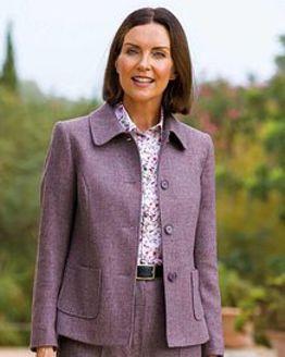 Algarve Pure Shetland Wool Jacket