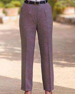 Algarve Pure Shetland Wool Trousers