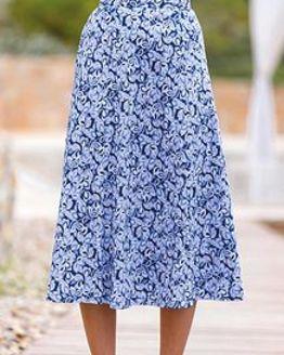 Orla Pure Silky Cotton Skirt