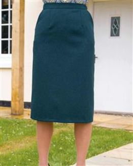 Farley Pure Shetland Wool Straight Skirt