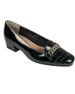 Van Dal Black Castile Shoe