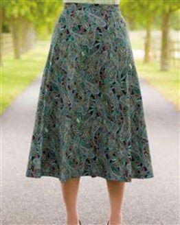 Ida Silky Cotton Skirt