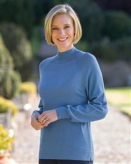 Merino Wool Turtle Neck Tunic
