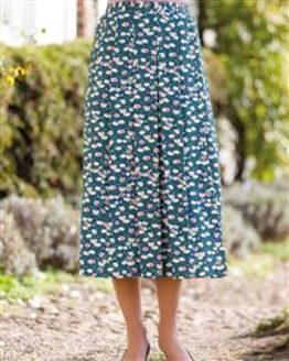 Alanis Floral Supersoft Viscose Skirt