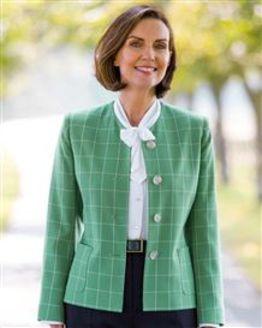 Cadiz Checked Jacket