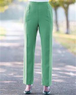 Cadiz Wool Blend Pull On Trousers