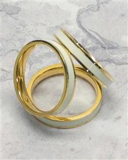 Enamel Scarf Ring
