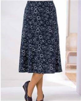 TIGI Circle Print Skirt