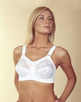 Doreen Bra Triumph White/Black