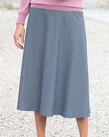 Milano Multi Coloured Wool-mix Skirt
