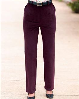 Needlecord Trousers  Ladies