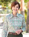 Cindy Multi Coloured Pure Cotton Liberty Blouse