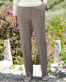 Murray Multi Coloured Wool Blend Trousers