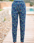 Martina Multi Coloured Supersoft viscose Trousers
