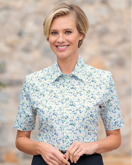 Alison Floral Pure Cotton Blouse