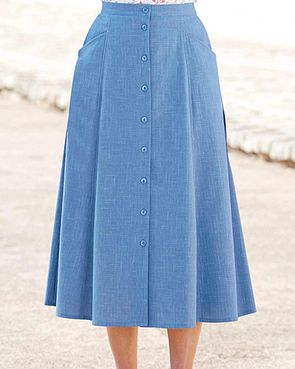 Polly Skirt  - Blue