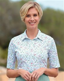 Gaynor Multi Coloured Pure Cotton Polo