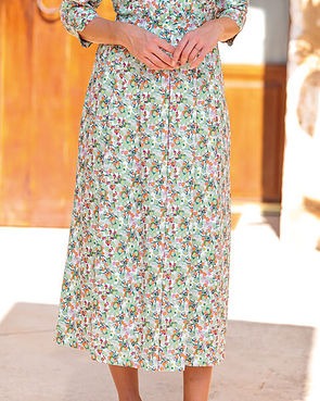 Suzanne Multi Coloured Supersoft viscose Skirt