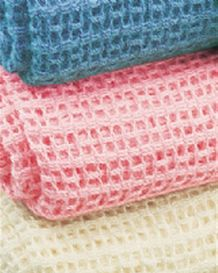 Cotton Cellular Blankets