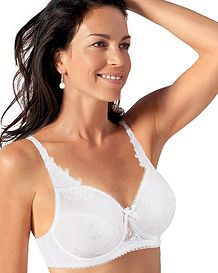 Playtex Cotton Jacquard Bra