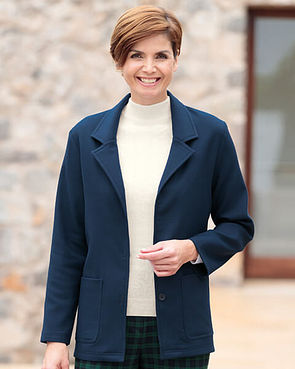 Navy Double Layer Jacket