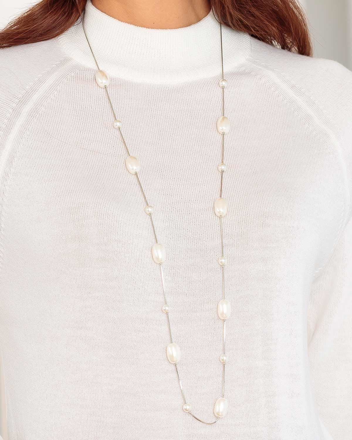 Contemporary Pearl Necklace